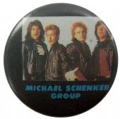 Michael Schenker Group - 'Group' Button Badge
